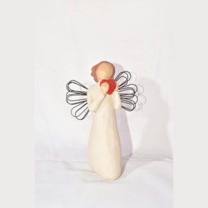 مجسمه فرشته قلب کد 113