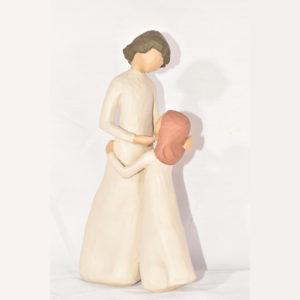 مجسمه مادر و دختر کد 123
