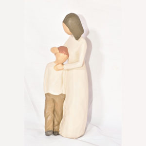 مجسمه مادر و پسر کد 124