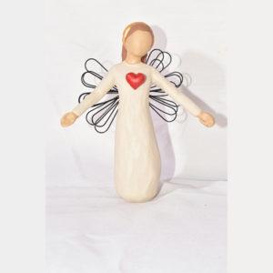 مجسمه فرشته عشق ماندگار کد 169