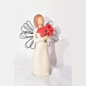 مجسمه فرشته خاطره عشق کد 44