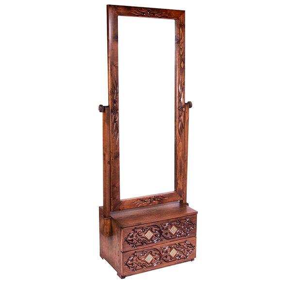 آینه 2 کشو منبت کد 2144