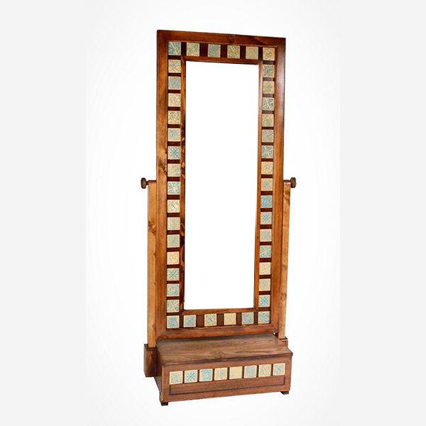 آینه تک کشو طلایی کد 2284